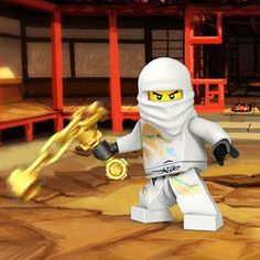 LEGO Ninjago Zane Photo
