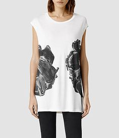 ALLSAINTS : Ladies T-Shirts Vest Tops & Printed T-Shirts