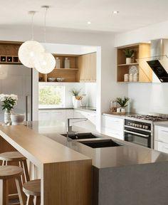 window laminex sublime teak in kitchens - Google Search