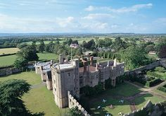 Thornbury Castle, Thornbury, Gloucestershire - England's only Tudor castle hotel, with a visitors book full of past monarchs and a spectacular Cotswolds setting