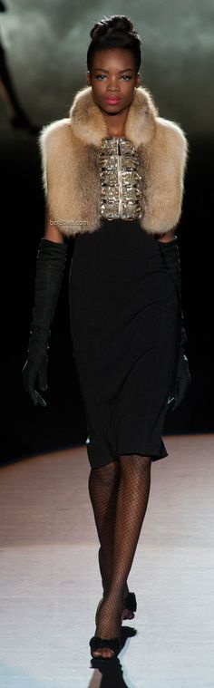 Fashion ~ Audacious Statement  ✦ Badgley Mischka Fall Winter 2013 Mercedes-Benz Fashion Week ✦