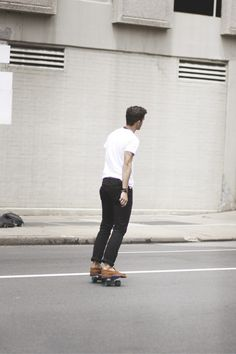 Skateboarding loafers