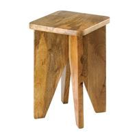 Show details for Arcadian Wood Stool