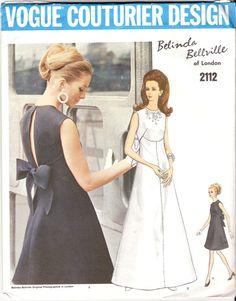 Vintage Sewing Pattern Rare Vogue Couturier Design by KikivonTiki