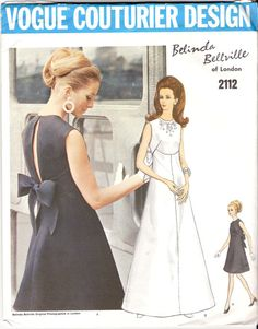 Vintage Sewing Pattern Rare Vogue Couturier Design by KikivonTiki... Soo making this my next project