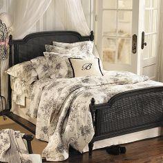 Louis Bed    ballard design...black or warm brown