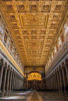 The Basilica of Saint Paul Outside the Walls, Rome..