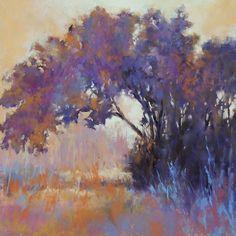 Pastel Landscape, Landscape Artwork, Abstract Landscape, Watercolor Architecture, Pastel Art, Nature Paintings, Abstract Oil, Tree Art, Amazing Art