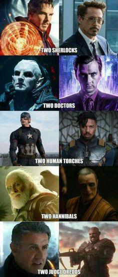 Don't forget the two watsons #infinitywar #avengers #avengersinfinitywar #thorragnarok #marvel #ironman #captainamerica