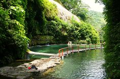 Los Chorros de Colòn, El Salvador    Been swiming here in this natural spring water pools.The water is clean and refreshing, and there are tiny fish you can see in the crystal clear water,they even tickle your toes.