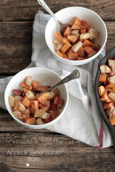 Naturally-Sweet! A Fall Favorite!! Apple and Sweet Potato Bake | Live Simply
