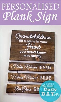 "Create a beautiful keepsake for yourself or someone you love. FREE ""Grandma"" SAYING FILE FOR SILHOUETTE USERS Anything pers..."