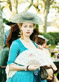 Sarah Gadon in 'Belle' (2014).