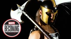 Cosplayer Cap Santiago Becomes Ares - Marvel Becoming