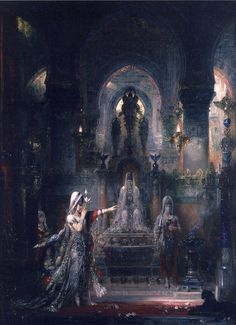 Gustave Moreau / 1829-1898 Salome Dancing Before Herod