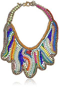 Sveva Collection Swarovski Elements Star Shaped Embroidery Statement Necklace of 23-26cm Sveva Collection http://www.amazon.co.uk/dp/B00MHPQRB2/ref=cm_sw_r_pi_dp_Ir3Lub1FCZ4FN