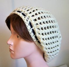 Your place to buy and sell all things handmade Slouchy Beanie Hats, Beret, Short Dreads, Cotton Hat, Summer Design, Crochet Woman, Ear Warmers, Shades Of Purple, Hats For Women
