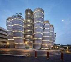 South Spine Learning Hub, Nanyang Technological University, Singapore by Heatherwick Studio's