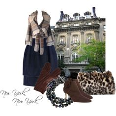 """""""New York, New York"""" by moodycat on Polyvore"""