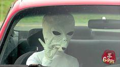 La broma del extraterrestre