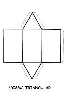 piramide pentagonal para recortar  recursos de matematicas