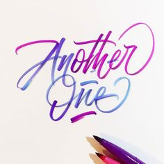 Love the colours in this lettering. Type by @phonoric | #typegang if you would like to be featured | typegang.com | typegang.com #typegang #typography