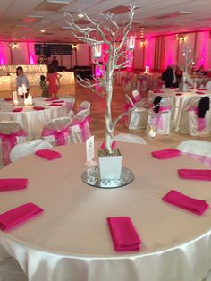Pink and ivory wedding!