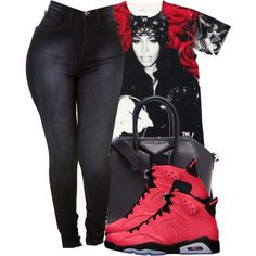 Untitled #1283, created by ayline-somindless4rayray on Polyvore