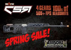 Spring Sale at Airsoft Outlet Northwest