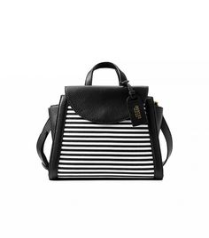 Kate Spade Saturday mini A satchel in Crosswalk Stripe