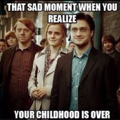 :(, but really i don't cry in movies, and I cried during the final scene of harry potter, both times I saw it in theaters...