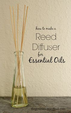 how to make a essential oil reed diffuser To order DoTerra essential oils go to www.mydoterra.com/daniellequinones/