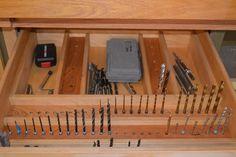 Drill Bit Storage drawer - Google Search