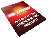 Top 10 Fat Loss Lessons of all Time Cheat Sheet Source by yogacorepolefit Full Throttle, Fat Loss Diet, Good Fats, Cheat Sheets, Lose Fat, All About Time, Pdf, Free