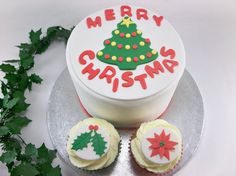 Christmas Party Package - One 6 Inch Christmas Fondant Cake Topper ...