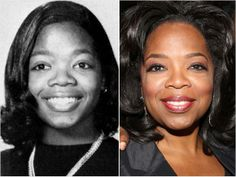 "Oprah WinfreyOprah Winfrey, pictured here in 1970 during her junior year at East Nashville High School in Nashville, was crowned Miss Black Tennessee in 1972. She went on to become an Oscar-nominated actress, a TV talk-show legend and one of America's most influential tastemakers (thanks to Oprah's Book Club and the ""Favorite Things"" episodes of her show)."