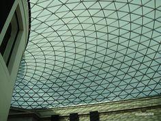 British Museum's roof, London