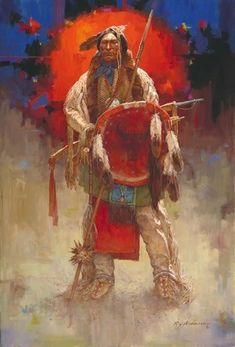 ✿♥✿ NATIVE AMERICAN ART ✿♥✿ Native American Pictures, Native American Paintings, Indian Pictures, Indian Paintings, Indian Pics, American Artists, Portrait Paintings, American Indian Art, American War