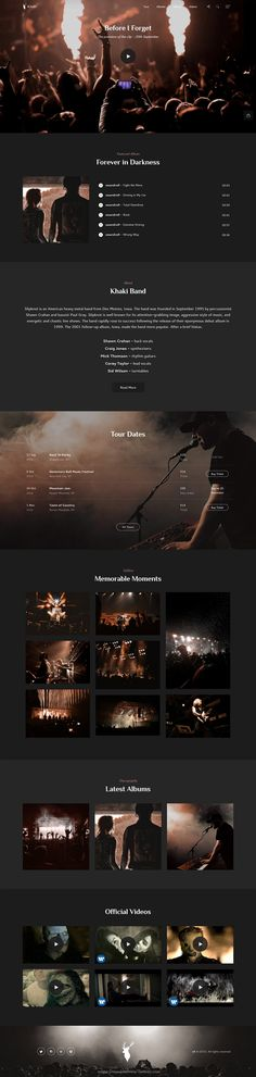 Khaki is an amazing #Bootstrap HTML template for multipurpose #band #musician #websites with 150+ HTML files and 9 pre-made demos download now➯ https://themeforest.net/item/khaki-multiconcept-bootstrap-4-html-template/16826910?ref=Datasata