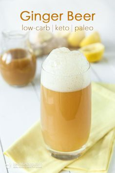 Homemade Sugar-Free Ginger Beer