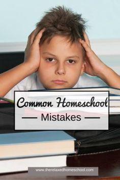 5 Common homeschool mistakes! #homeschool