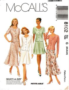 STYLE 2241 Misses/' Separates 8 to 18  Sewing Pattern