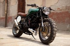 Ducati Supersport 600, custom built. I've got a thing for large front tires.