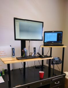 Standing desks are popular, but choosing a good one is no easy task. You could go with a motorized, whole desk…