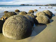 Rocas Moeraki. Nueva