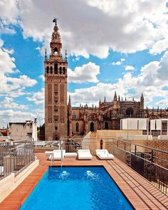 EME HOTEL  A dip on the roof and with fabulous views of the Giralda. What more can you ask for? www.emehotel.com