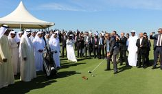 GOLFERS FLOCK TO STUNNING AL ZORAH GOLF CLUB AS MIDDLE EAST'S NEWEST COURSE IS DECLARED OPEN #troongolf