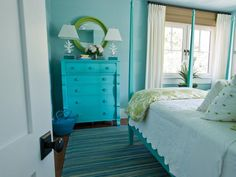 love this dresser  House of Turquoise: HGTV Dream Home 2013