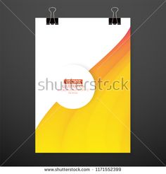 Modern abstract cover. Cool gradient waves composition. Eps10 vector. Modern, Composition, Waves, Chart, Letters, Cool Stuff, Abstract, Image, Letter