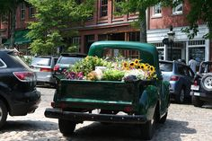 Vintage Trucks Nantucket Flower Truck - My adventures, artful